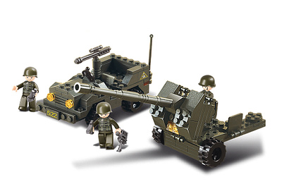 Jeep con cañón, Sluban
