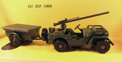 Jeep con remolque, EEUU, 1:43, Solido