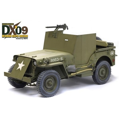 Jeep w/Armor Plating, US WWII, 1:6, Dragon Figures