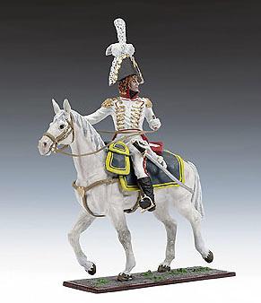 Joachim Murat a caballo, Ejército Francés, 1:24, Schuco