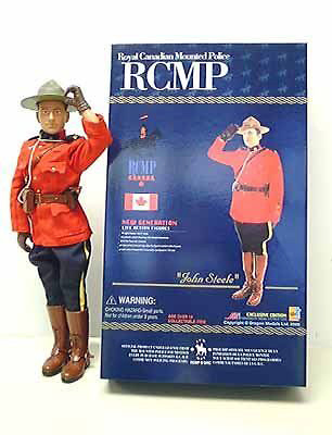 """John Steele"", Royal Canadian Mounted Police (RCMP), 1:6, Dragon Figures"