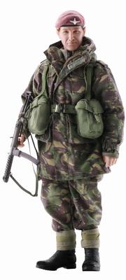 """Jones"" (Teniente Coronel) British Paratrooper, Guerra Malvinas, 1982, 1:6, Dragon Figures"