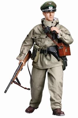 """Josef Paulus"" (Teniente) Gebirgsjäger Officer, Gebirgs-Division, Gustav Line, Italia, 1944, 1:6, Dragon Figures"