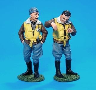 "Josef ""Pips"" Priller y Wingman, Alemania, 2ª Guerra Mundial, 1:30, John Jenkins"