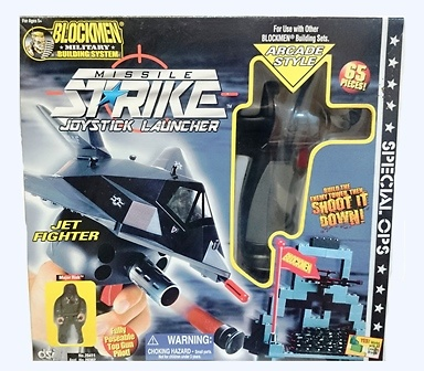 Joystick Launcher, jet fighter, Blockmen