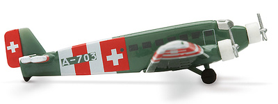Junkers JU-52, Swiss Air Force, 1:400, Herpa