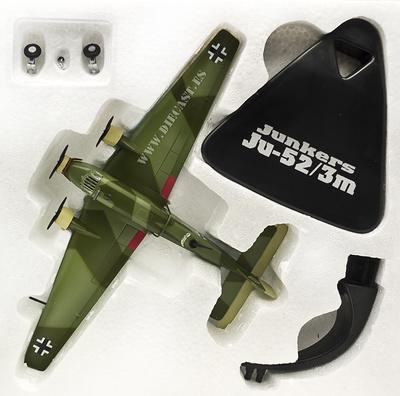 Junkers Ju-52/3m, Alemania, 2ª Guerra Mundial, 1:144, Atlas