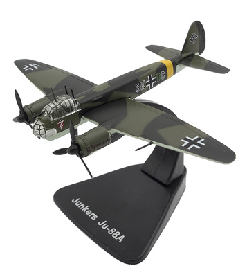 Junkers Ju-88A, 1:144, Editions Atlas