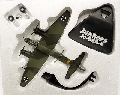 Junkers Ju-88A-4, Alemania, 2ª Guerra Mundial, 1:144, Atlas