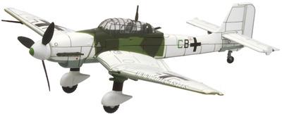 Junkers Ju87 D-5 Stuka, Sturzkampfgeschwader V.St.G5, Frente del Este, 1944, 1:72, Altaya