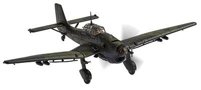 Junkers Ju87B-2, J9+BL, Luftwaffe 9./StG.1, St. Pol, Francia, Noviembre, 1940, 1:72, Corgi