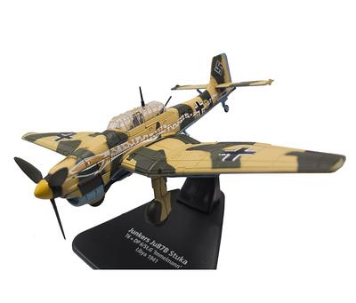 """Junkers Ju87B Stuka, T6+DP 6/St.G """"Immelmann"""", Libia, 1941, 1:72, Oxford"""