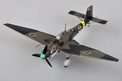 Junkers Ju87D-1, Stuka 1942, 1:72, Easy Model