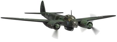 Junkers Ju88A-5 9K+ED, Stab III./KG51, Winter, 1940, 1:72, Corgi