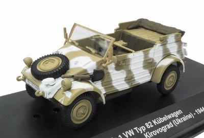 Kübelwagen Typ 82, Kfz.1 VW, Pz.GrenDiv. Gross Deutschland, Kirivogrado, Ucrania, 1944, 1:43, Atlas