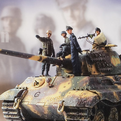 KING TIGER ARDENAS, 1:16, Forces of Valor
