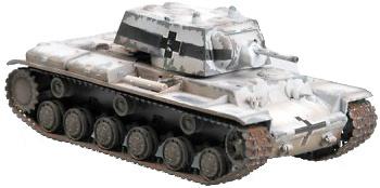KV-1 Captured, 1941, camuflaje de invierno, 1:72, Easy Model