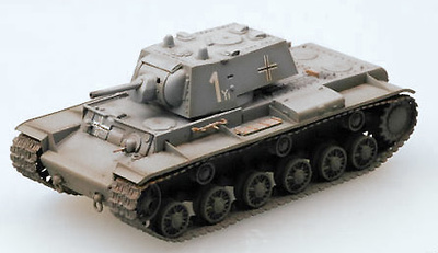 KV-1 Captured, 8th Panzer Division, 1:72, Easy Model