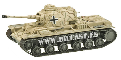KV-1 Pz.Kpfw.756(r) 22nd Armored Div., 1:72, Easy Model