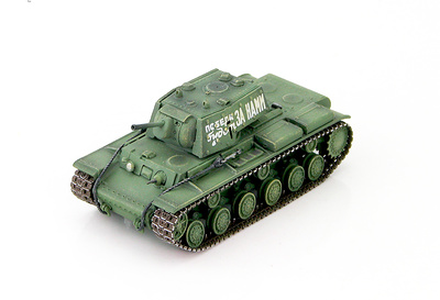 KV-1E Soviet Heavy Tank 6th Heavy Tank Guard Regiment, May 1943, 1:72, Hobby Master