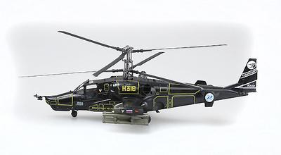 "Kamov Ka-50, N318, ""Werewolf"", Fuerza Aérea Rusa, 1:72, Easy Model"
