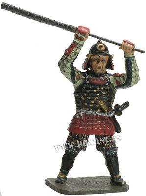 Kanabou Musya, Samurai, 1:30, Del Prado