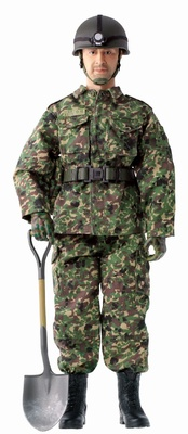 Kentaro Kogure, Sergeant, JGSDF Infantry, Disaster Relief Operation, 1:6, Dragon Figures