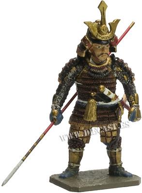 Kikkawa Motoharu, 1530-1586, Samurai, 1:30, Del Prado