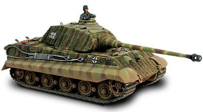 King Tiger, Porsche Turret, Sd.Kfz.182, France 1944, 1:32, Forces of Valor