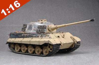 King Tiger, Sd.Kfz.182, with Henschel Turret, 1:16, Trumpeter