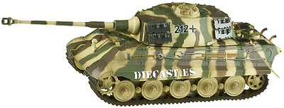 King Tiger (H) Batallón de Tanques Pesados 505, 1:72, Easy Model