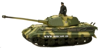 King Tiger 506 Panzer Division, 1:72, Aoshima