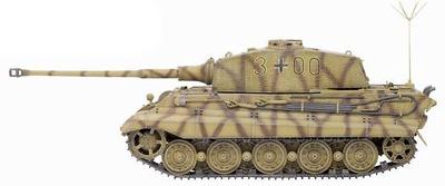 King Tiger Henschel Turret w/Zimmerit 3/s.Pz.Abt.506, 1:35, Dragon Armor