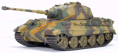 King Tiger Henschel Turret w/Zimmerit s.Pz.Abt.506, 1:35, Dragon Armor