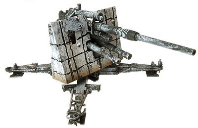 Krupp 8.8 Cm FlaK 36 Gun, German Army, Stalingrad, USSR, 1942, 1:72, Panzerstahl
