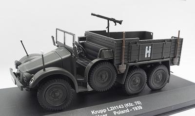 Krupp L2H143 (Kfz.70), Heer, Polonia, 1939, 1:43, Atlas