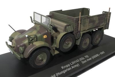 Krupp L2H143 (Kfz.70), Honvéd, Ejército Húngaro, Don River, URSS, 1942, 1:43, Atlas
