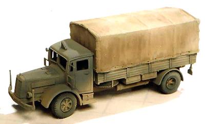 Krupp LD 6,5ton N242, 1:72, Wespe Models