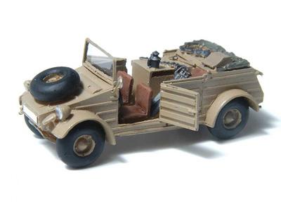 Kubelwagen Flugfeldwerkstatt, Africa, 1:72, Wespe Models