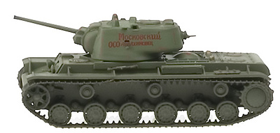 Kv-1, Carro de combate pesado, Rusia 1942, 1:72, Easy Model