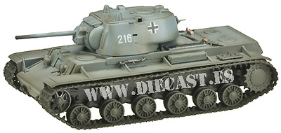 Kv-1, Ejército Alemán 1941, 1:72, Easy Model