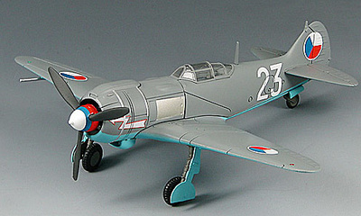 "LA-5FN, Czechoslovak Air Force ""White-23"", 1:72, Sky Max"