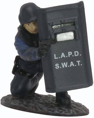 LAPD, USA, 1:32, Altaya