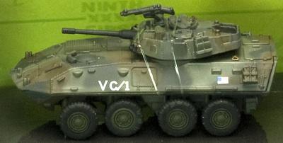 LAV-25 Light Armoured Vehicle, U.S., 1:72, Bravo Team