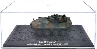 "LAV-25 ""Piranha"", National Guard, Nueva Orleans, USA, 2005, 1:72, Altaya"