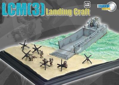 LCM (3) Lancha de Desembarco, 1:72, Dragon Armor