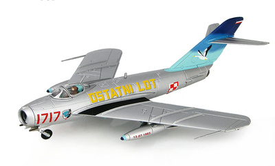 LIM-5 (MIG-17F) 1717, 45th Experimental Aviation Squadron,  Julio, 1993, 1:72, Hobby Master