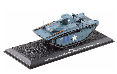 LVT(A)-1, Tank Battallion US Army, Saipan (Mariana Islands) 1944, 1:72, Altaya