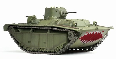 LVT-(A)1, Pacific Theater Operation 1945, 1:72, Dragon Armor