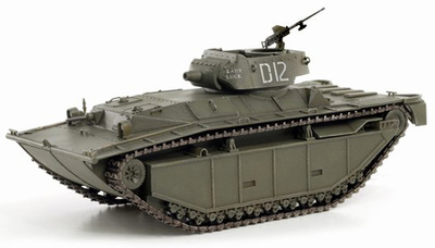 LVT-(A)4, 3rd Armored Amphibian Battalion, Peleliu 1944, 1:72, Dragon Armor